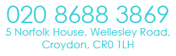 Contact details & address for Croydon dentist. 020 8688 3869. 1072-1073 Whitgift Centre, Croydon, CR0 1UX